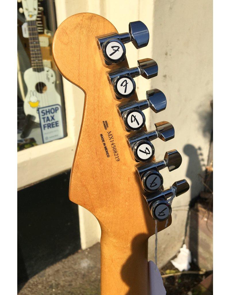 Fender Fender Deluxe stratocaster hss Blizzard Pearl occasion