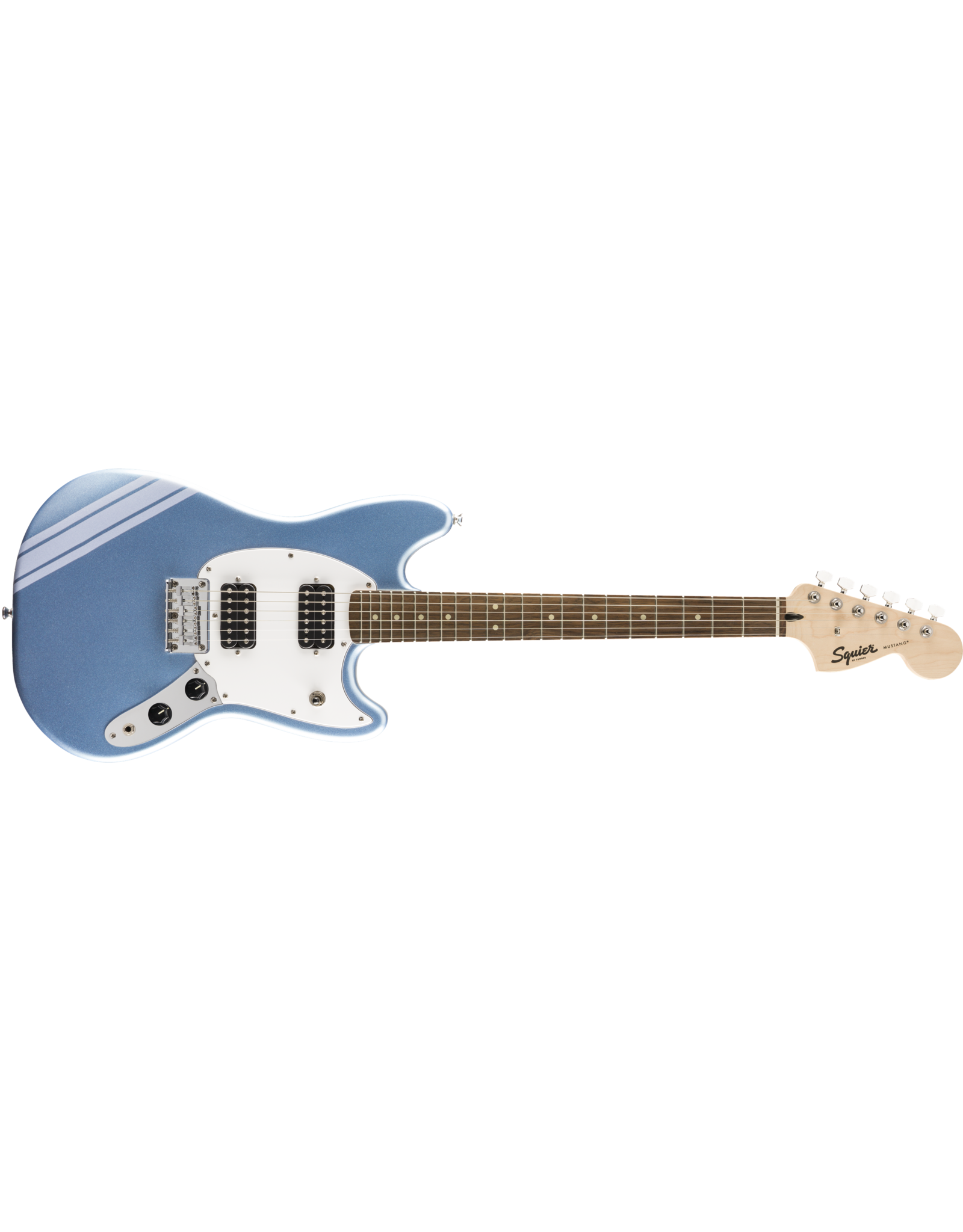 Fender Squier FSR Bullet Mustang HH Competition Lake Placid Blue