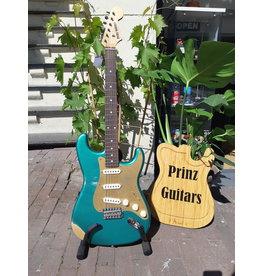 Prinz Guitars Prinz S-Style Sherwood Green Relic