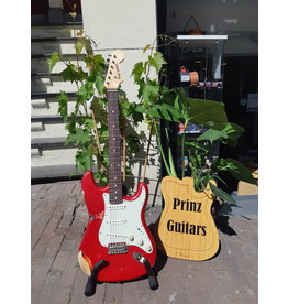 Prinz Guitars Prinz S-Style relic candy apple red