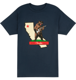 Fender Rocks Cali t-shirt blue XL