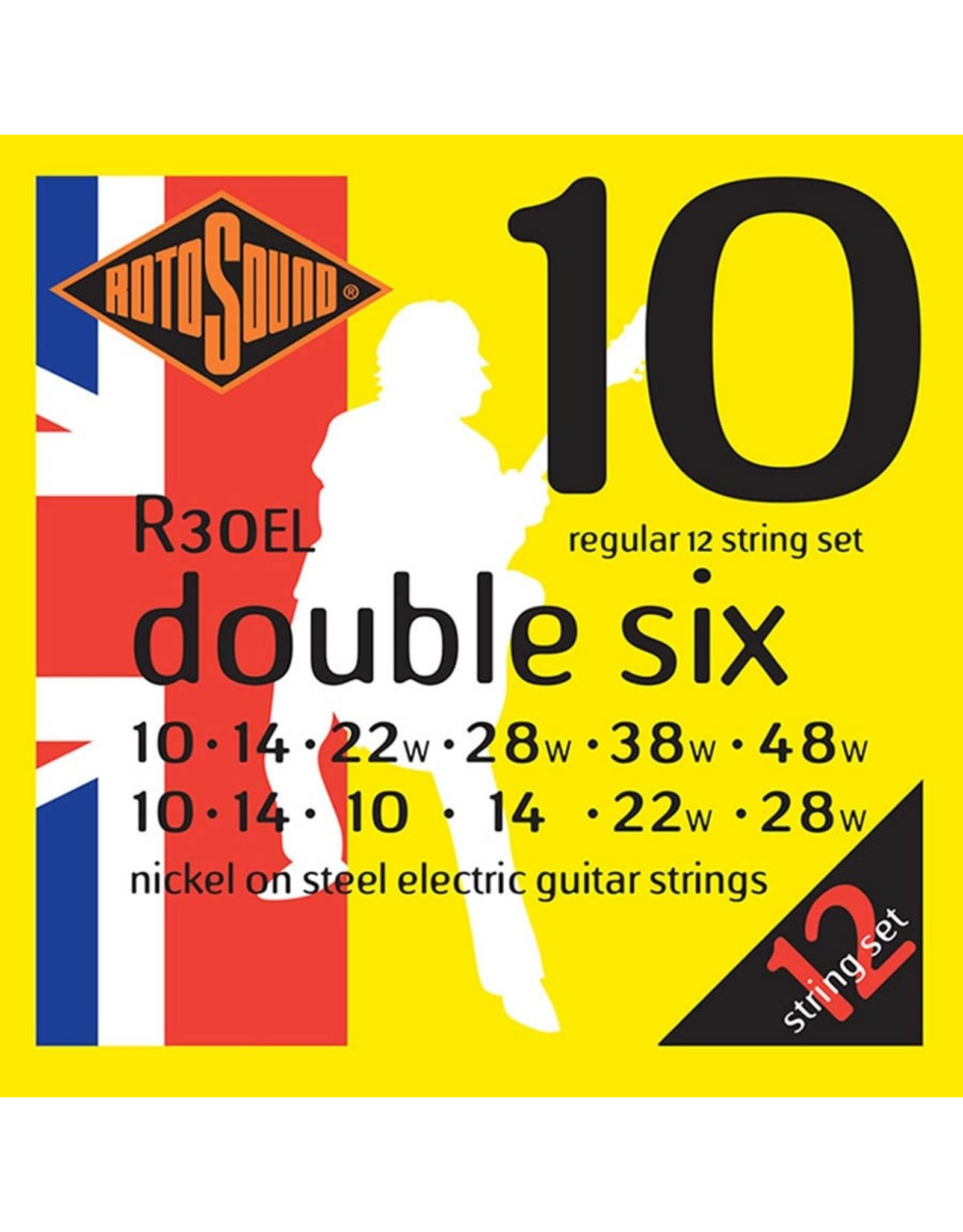 Rotosound Rotosound R3EL 12-snarig nickel electric