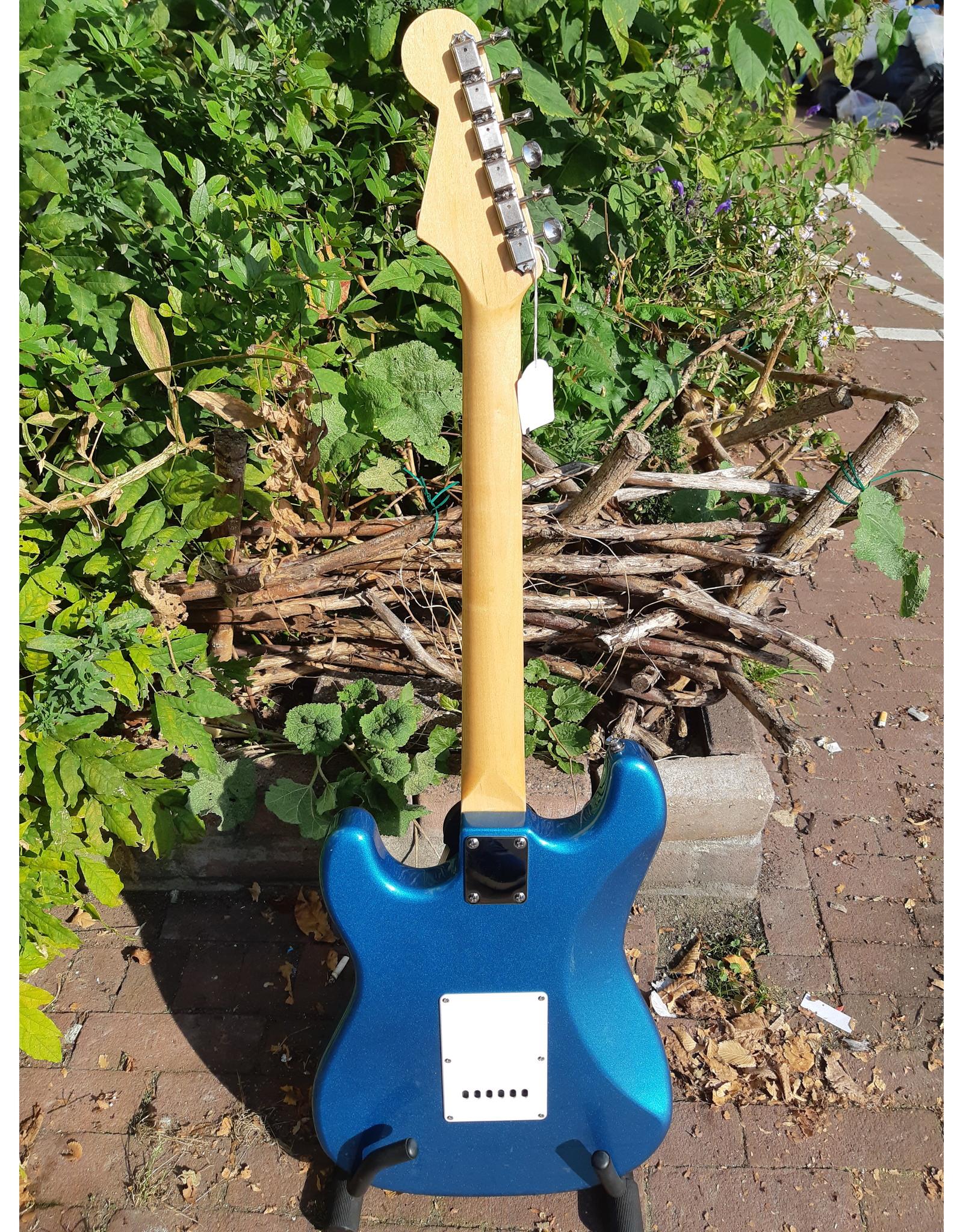 Prinz Guitars Prinz S-Style lake placid blue