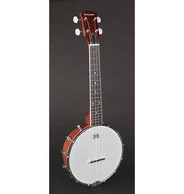Richwood Richwood RMBU 404 Master Series ukelele banjo. open achterkant