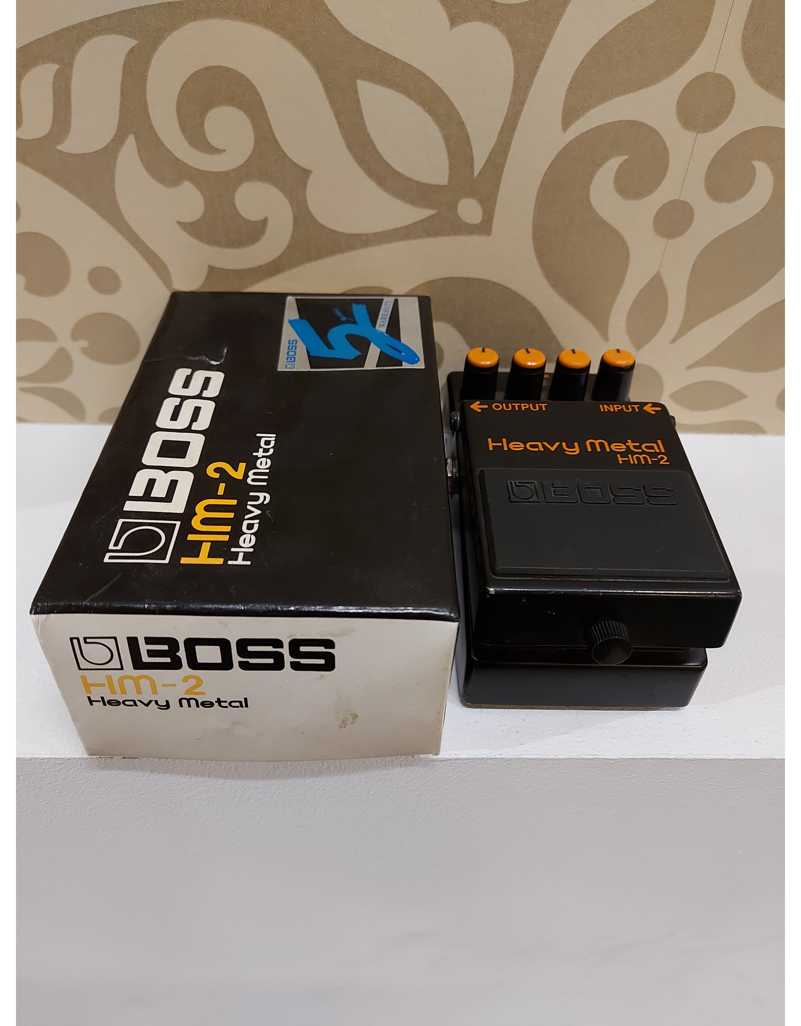 Boss Boss Occasion HM-2 Heavy Metal 1989