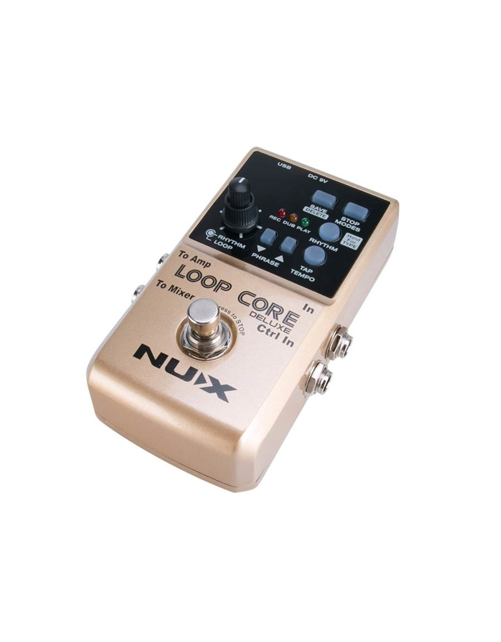 NUX Nux Core Serie Pedal Bundle Loop Core Deluxe with NMP-2 footswitch