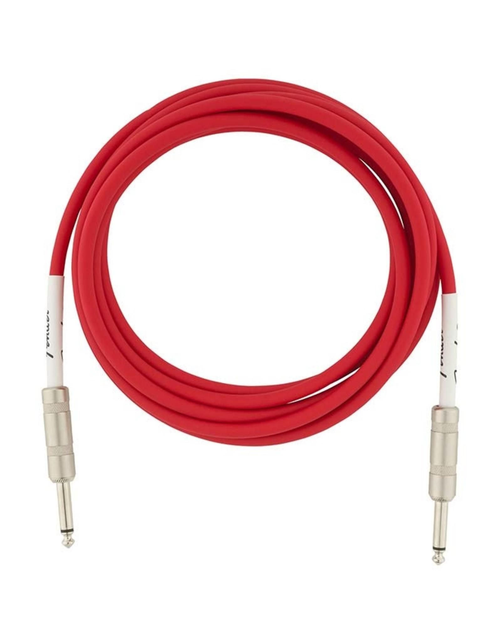 Fender Fender Original series instrument Cable 10ft fiesta red