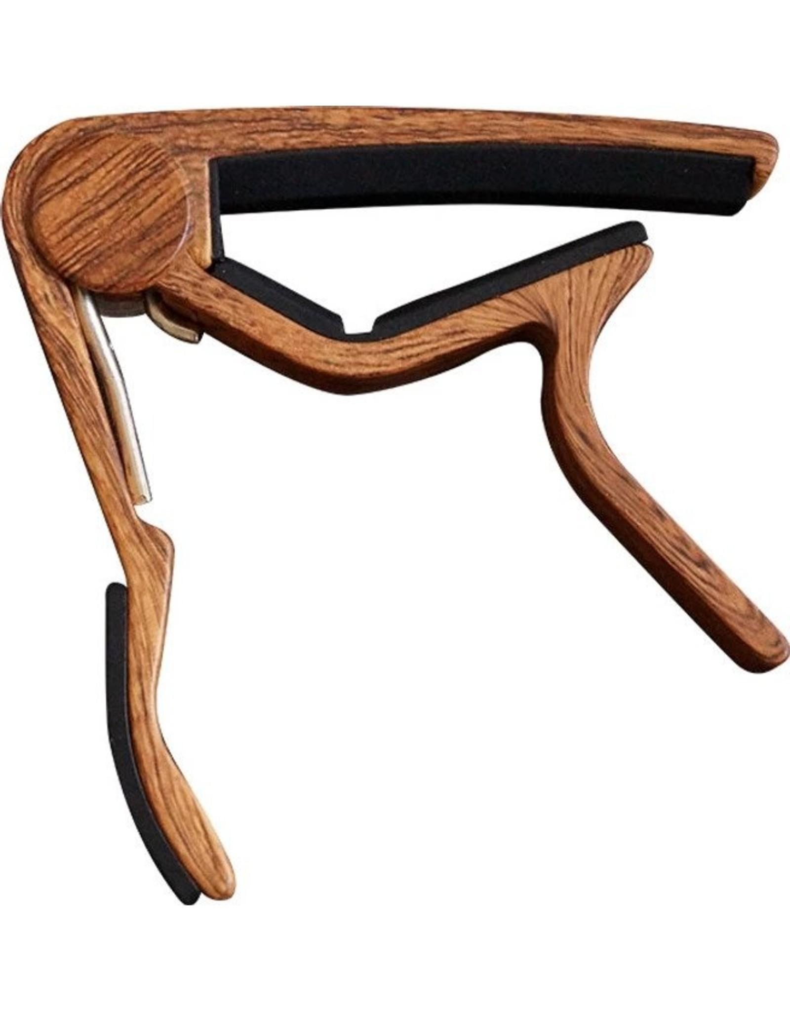 CLX CLX Capo steelstring houtkleur donker