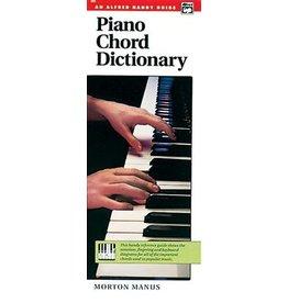 Piano Chord Dictionary akkoordenboek