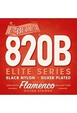 La Bella LA Bella L-820B Flamenco snaren black trebles
