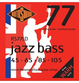 Rotosound Rotosound Jazz bass 77LD  Flatwound 45-105