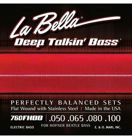 La Bella La Bella L-760FHBB Deep Talking basset voor Hofner Beatle bas