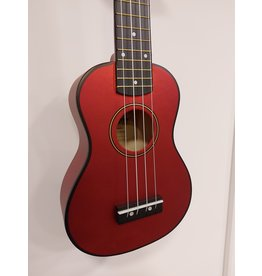 Morgan Morgan Ukulele UK-S100 Metallic red