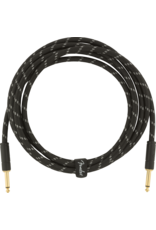 Fender Fender Deluxe series instrument cable 10ft black tweed 0990820092
