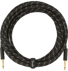 Fender Fender Deluxe series instrument cable 18ft black tweed 0990820080