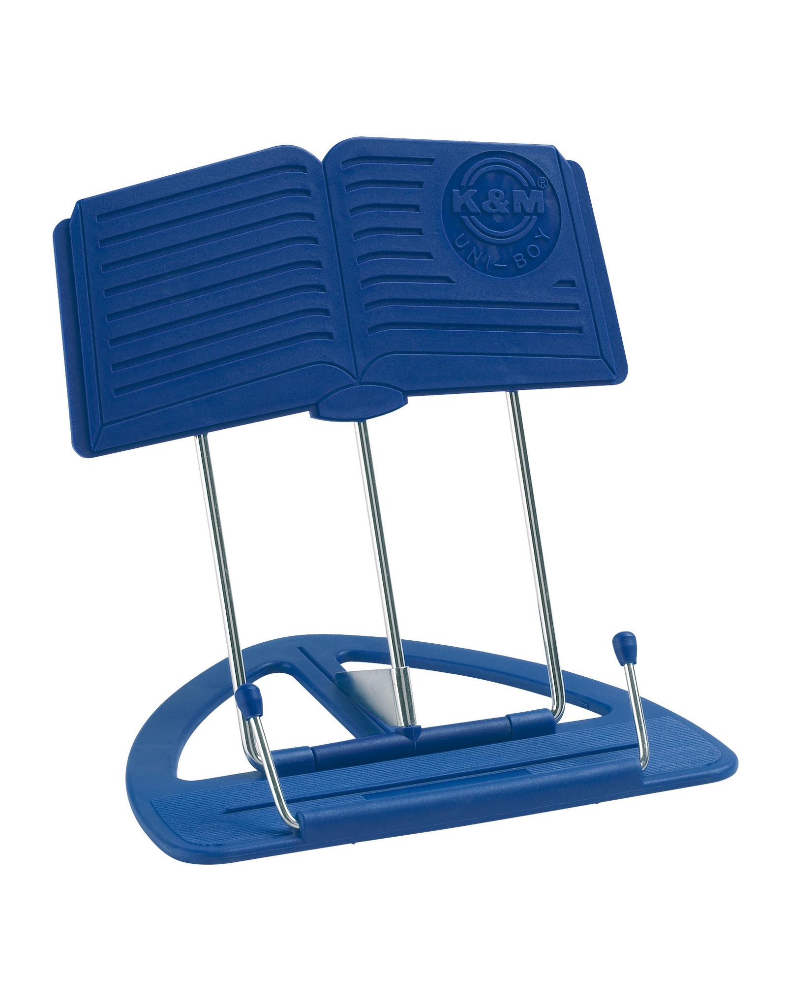 K & M K&M 12450 tafel lessenaar blauw