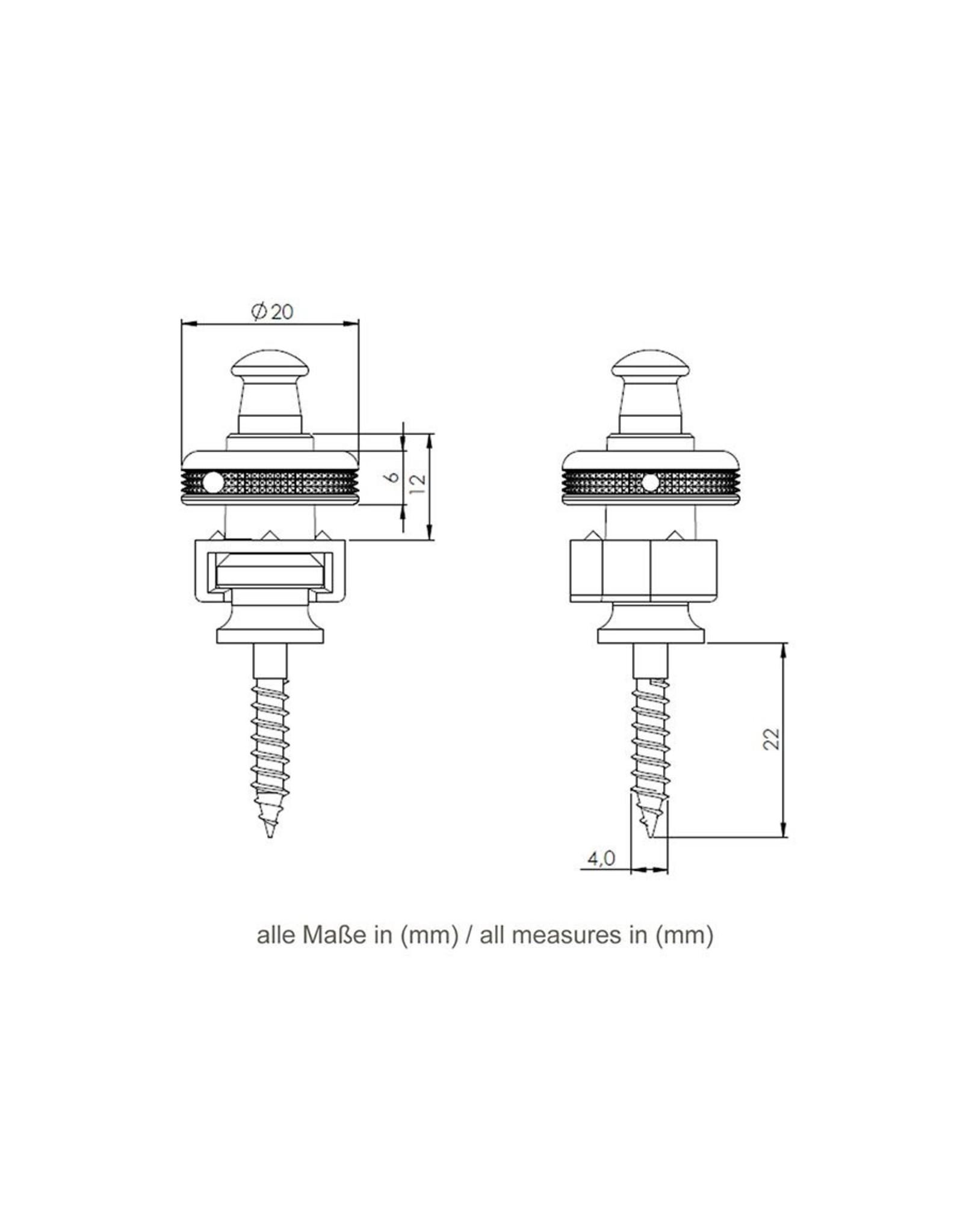 Schaller Schaller S-locks Straplocks Chrome