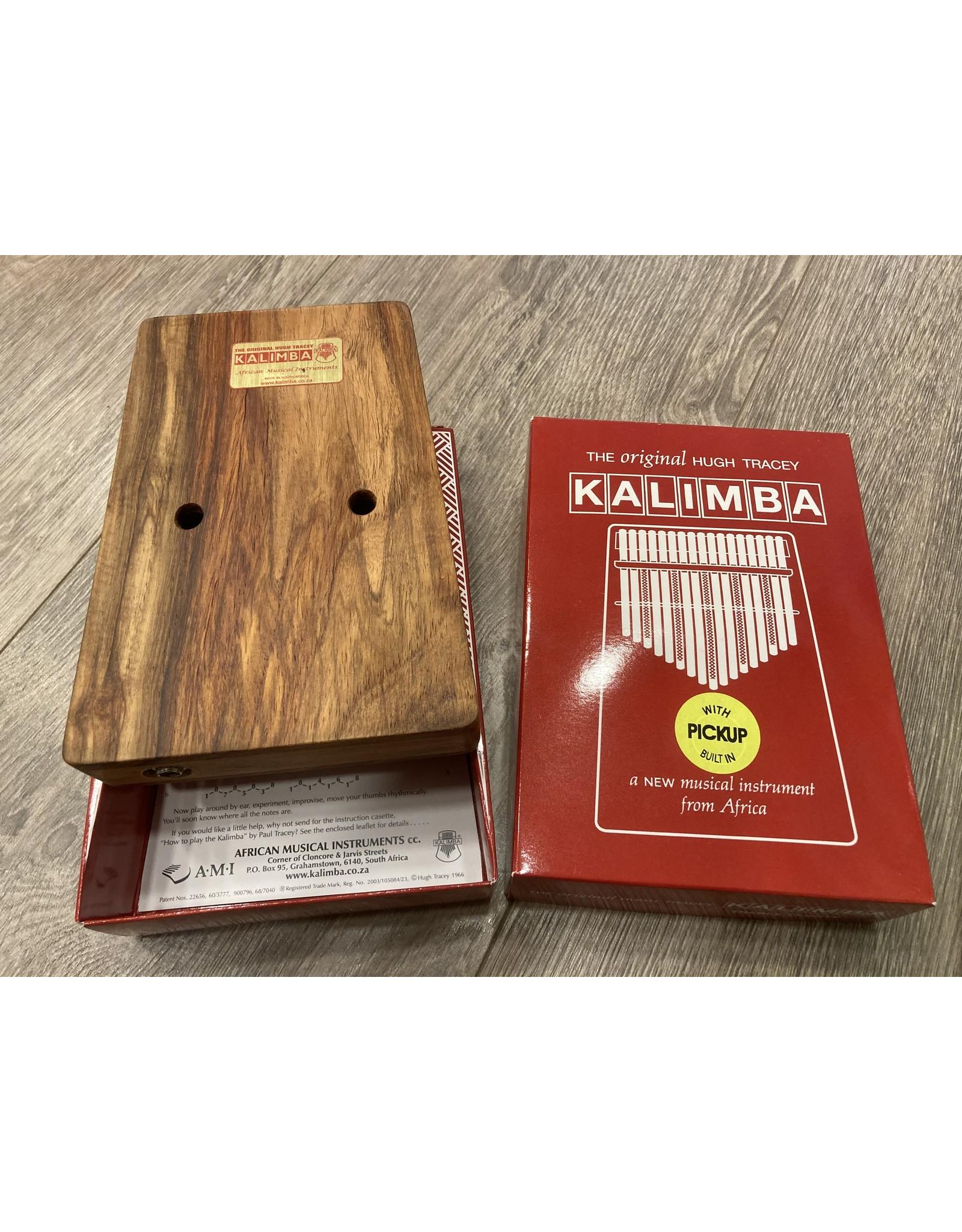 Hugh Tracy Kalimba Hugh Tracy Kalimba 17 notes with pick-up