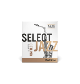 D'Addario D'addario Select Jazz Alt sax rietjes unfiled