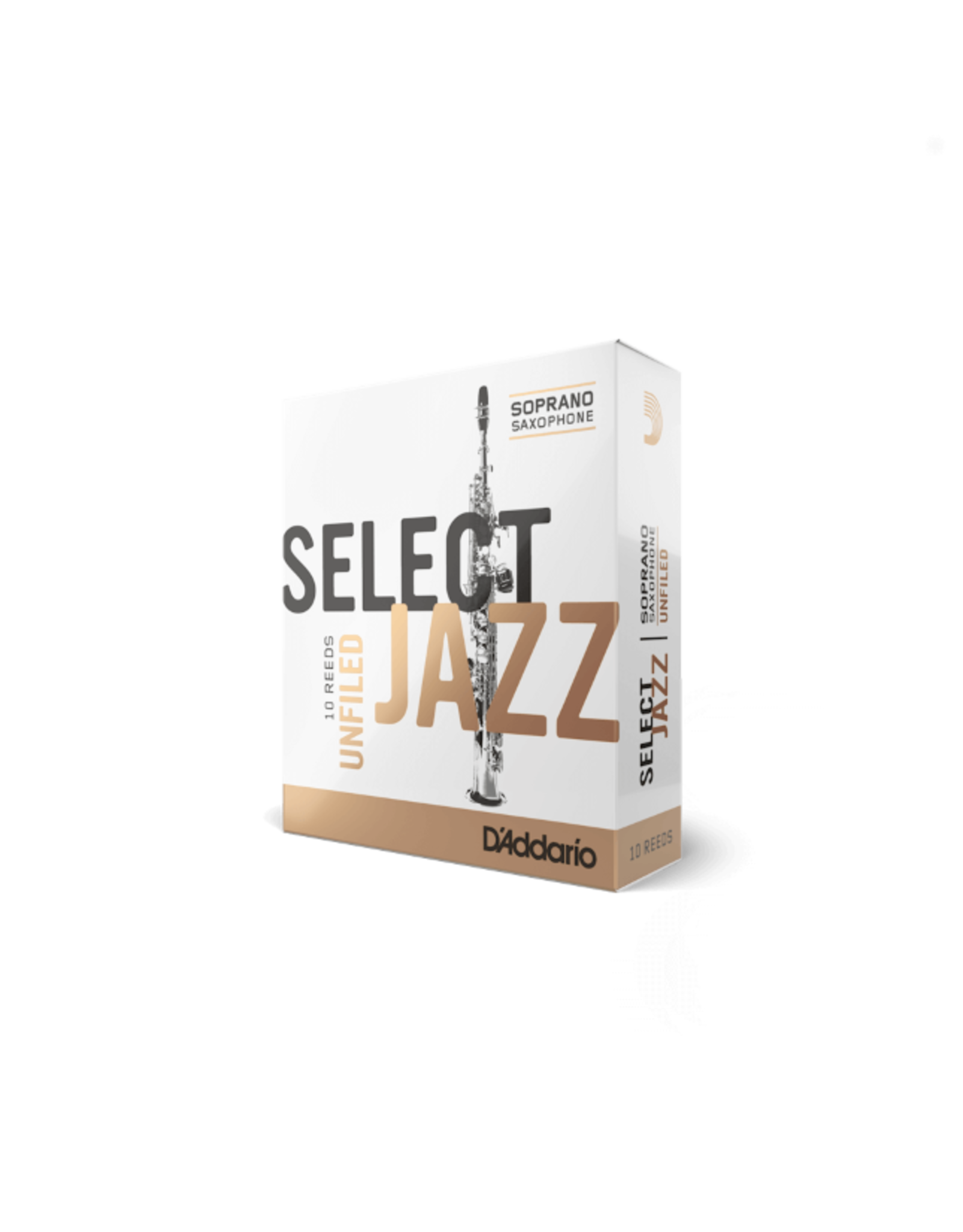D'Addario D'addario Select Jazz Sopraan Sax  Unfiled rietjes