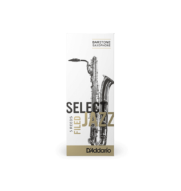 D'Addario D'addario Select Jazz Filed Bariton Sax rietjes