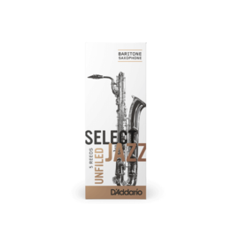 D'Addario D'addario Select Jazz Unfiled Bariton Sax rietjes