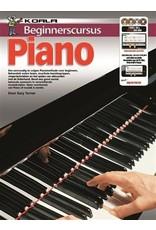 Koala Beginnerscursus Piano Boek + online audio