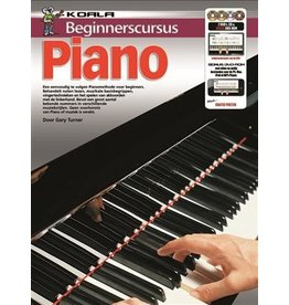 Koala Beginnerscursus Piano Boek + online audio