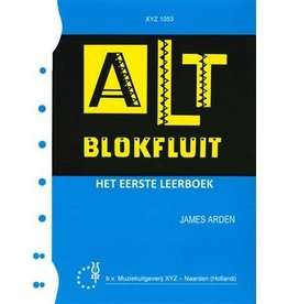 Methode Alt blokfluit 1 James Arden