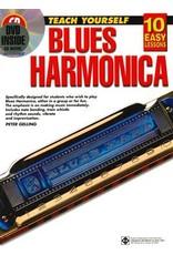 Leer jezelf Blues HArmonica book met CD en DVD