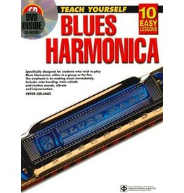 Leer jezelf Blues Harmonica book met CD en DVD