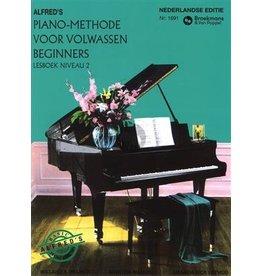 Alfred's Pianomethode voor volwassenen niveau 2