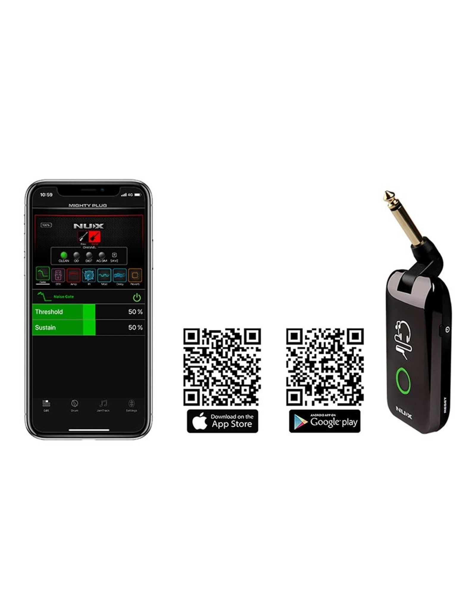 NUX Nux MIGHTY Plug modeling Amplug