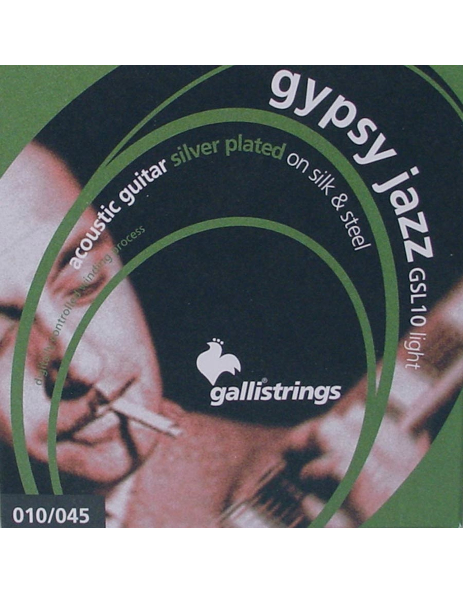 Galli Galli GSL10 Gypsy Jazz Silk and Steel 010