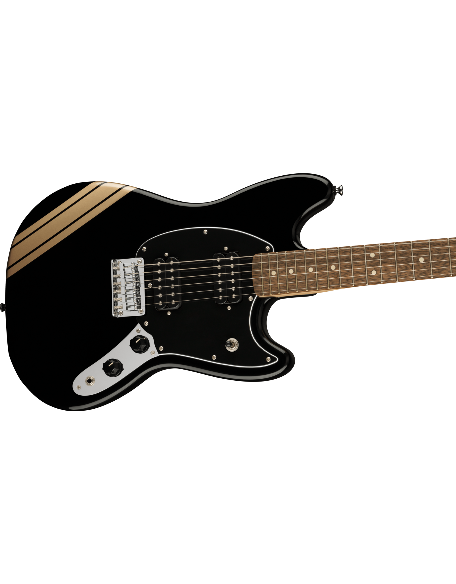 Squier Squier FSR Bullet Competition Mustang HH Black