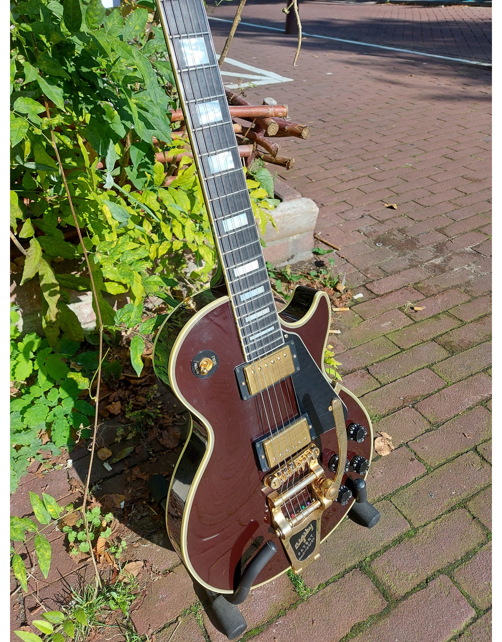 Gibson Les Paul Custom 2007 Oxblood Occasion