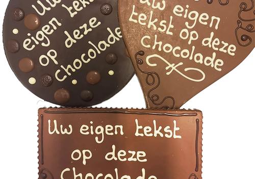 Beschreven chocolade