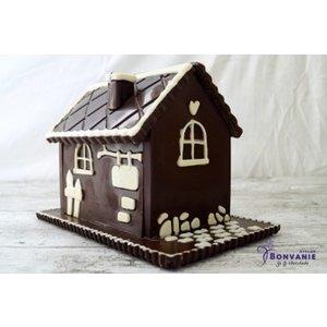 Ophalen in de winkel 3D chocolade huis