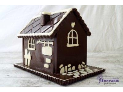 Bonvanie chocolade 3D chocolade huis