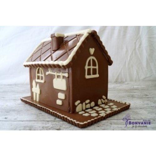 Bonvanie chocolade Chocolade huis 1 kilo - Bonvanie 3D Chocolade