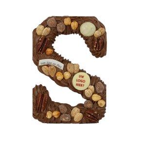 Bonvanie chocolade LOGO chocoladeletter, diverse maten