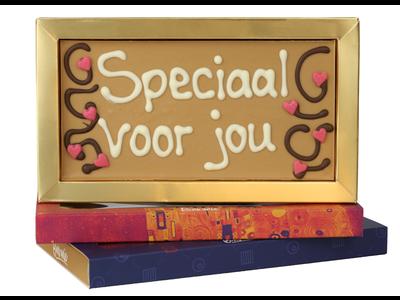 Bonvanie chocolade Speciaal voor jou - Chocoladereep met tekst