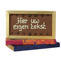 Chocoladereep met eigen tekst