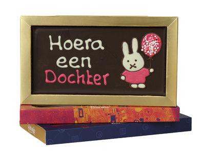 Bonvanie chocolade Een dochter - Chocoladereep met tekst
