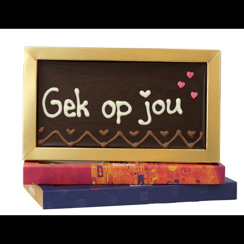 Bonvanie chocolade Gek op jou - Chocoladereep