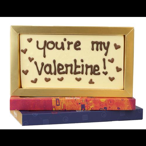 Bonvanie chocolade You're my valentine! - Chocoladereep