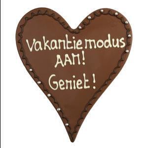 Bonvanie chocolade Vakantiemodus aan! - Chocoladehart