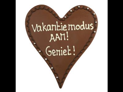 Bonvanie chocolade Vakantiemodus aan! - Chocoladehart XL