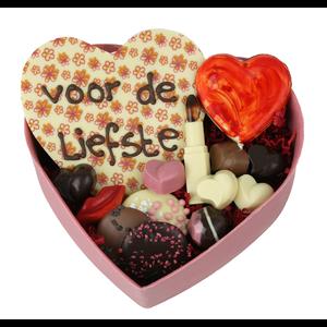 Bezorging door Bonvanie in regio Almelo, Nijverdal, Rijssen en Wierden XXL gevuld hart van chocolade