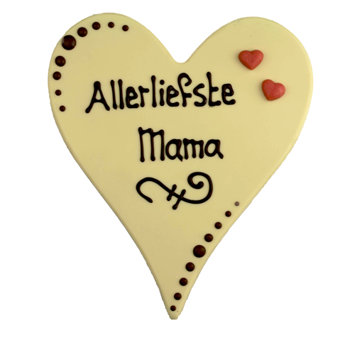 Bonvanie chocolade Allerliefste mama - Chocoladehart XL